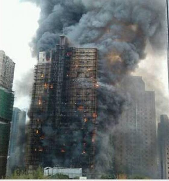 high rise fires